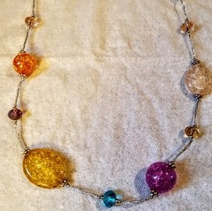 Premier Designs Glass bead necklace